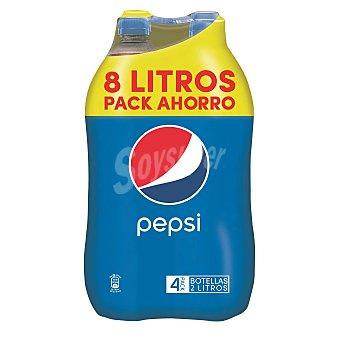 Pepsi Refresco de cola Pack 4x2 litros