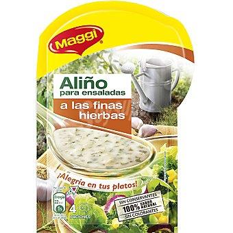 Maggi Aliño para ensaladas a las finas hierbas Sobre 10 g