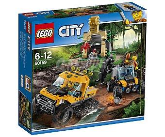 LEGO City Juego de construcciones con 378 piezas Jungla: Misión en semioruga, City 60159 lego