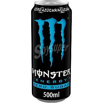 Monster Energy Bebida energética absolutely zero Lata 50 cl