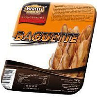 ASERCELI Baguette sin gluten Paquete 170 g