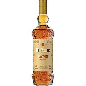 El Prior Vino de licor dulce moscatel Botella 75 cl