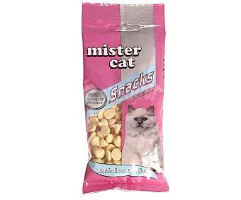 Mister cat Snacks para gatos de bombones de leche con vitaminas 50 g