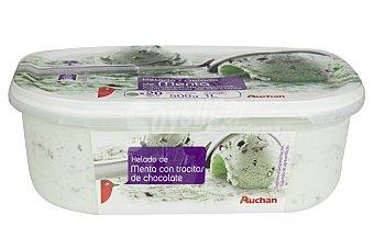 Auchan Tarrina de helado de menta 1 l
