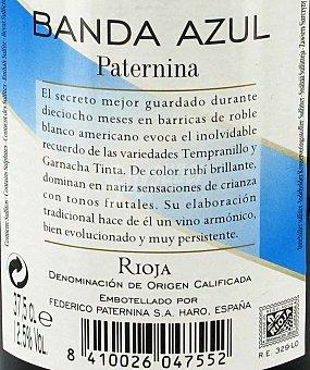 Paternina Banda Azul Vino Tinto Botella 37,5 Centilitros