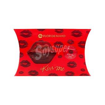 Flor de Mayo Lote mujer kiss eau toilette vaporizador 30 ml + balsamo labial perfumado 10 ml 1 unidad