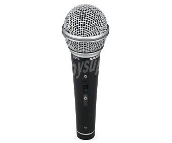 Samson Micrófono profesional 80Hz a 12kHz, cable xlr-plug, pinza R21S