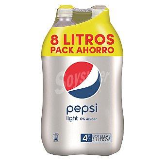 Pepsi Refresco de cola light 4x2L