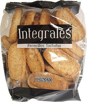 Hacendado Pan tostado integral panecillos Paquete 300 g