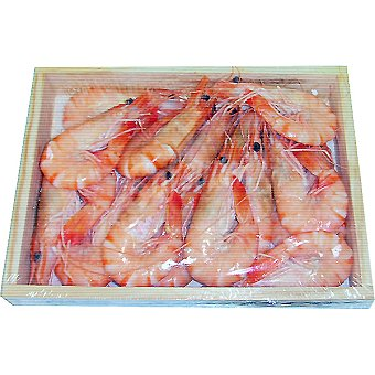 Langostino cocido Madagascar 30-40 piezas/kg Caja 1 kg
