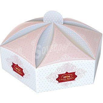 Caja Roja Nestlé Bombones pastelito de Navidad Estuche 105 g