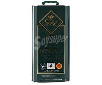 Olivar de Segura Aceite de oliva virgen extra obtenido directamente de aceitunas picual 5 litros