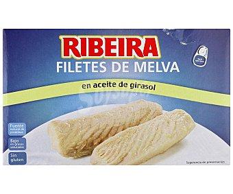 Ribeira Filetes de melva en aceite de girasol 80 Gramos