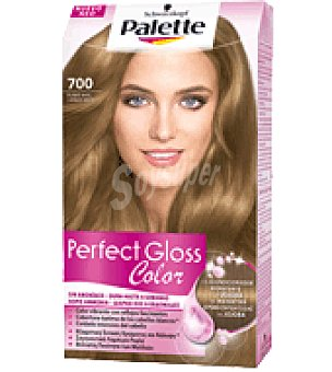 Palette Tinte Perfect Gloss Color 700 Rubio Miel 1 ud