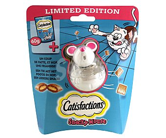 Catisfactions Snacks mouse salmón catisfaction 60 gr