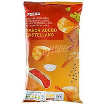 Eroski Patatas fritas lisas sabor adobo Bolsa 150 g
