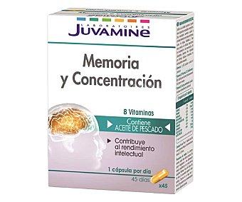 Juvamine Complemento memoria y concentración 45 uds