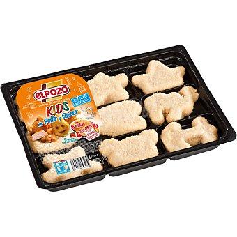 ElPozo Kids de pollo y queso Bandeja 240 g (9 unidades)