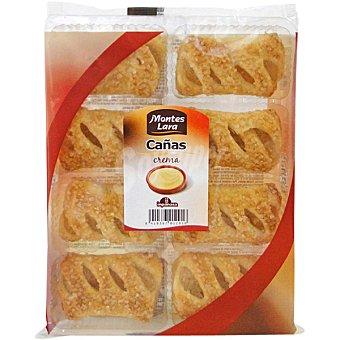 Montes Lara Cañas de crema  paquete 200 g