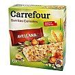 Barritas de muesli con avellana 6 barritas (150 g) Carrefour