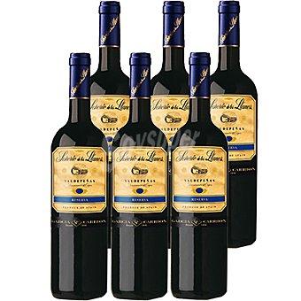 Señorio de Los Llanos Vino tinto reserva D.O. Valdepeñas caja 6 botellas 75 cl