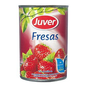 Juver Fresas en Almíbar 145 g
