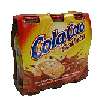 Cola Cao Batido galleta PACK3 666 GRS