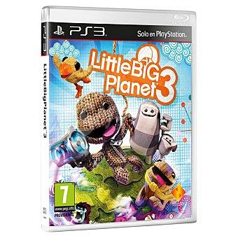 PS3 Videojuego Little Big Planet 3 1 Unidad