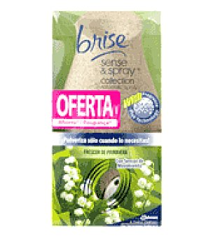 Glade Sense & Spray Ambientador frescor primavera collection difusor+recambio 1 ud