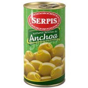 EL SERPIS Aceitunas rellena de anchoa lata 160 g