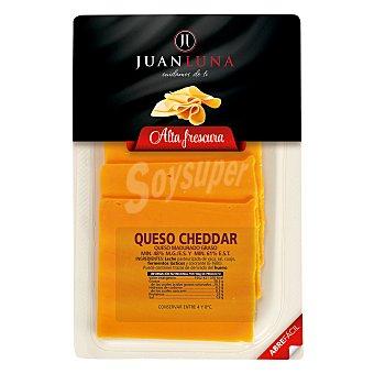 Juan Luna Queso Cheddar en lonchas 200 g