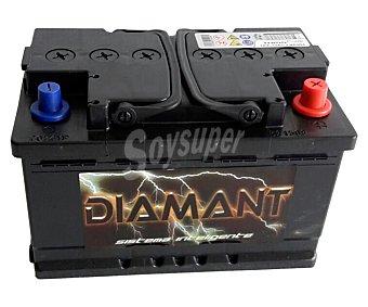 Diamant Batería de automóvil de 12v y 73 Ah, potencia de arranque: 640 Amperios 1 unidad