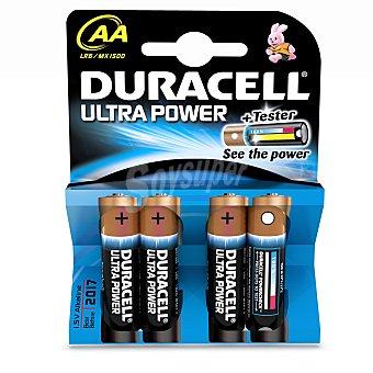 Duracell Pack de Pilas Alcalinas Uso Alto Rendimiento Lr06 (aa) Ultra 4 ud