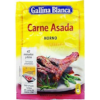 Gallina Blanca Receta horno de carne asada Sobre 33 g