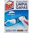 Toallitas limpia gafas suaves Paquete 10 unidades Bref WC