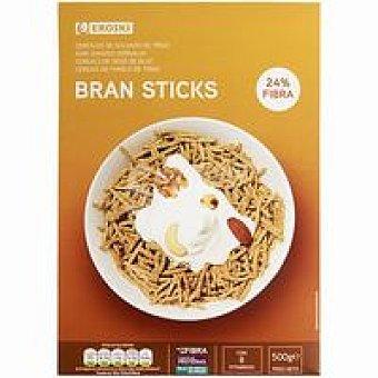Eroski Cereales bran sticks salvado de trigo Caja 500 g