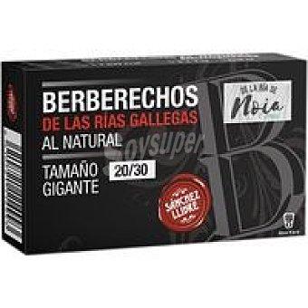 Sanchez Berberecho al natural de Noia 20/30 llibre Lata 63 g