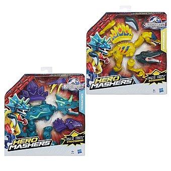 HASBRO Figuras desmontables e intercambiables Jurassic World Hero Mashers edición de lujo con más accesorios 1 unidad