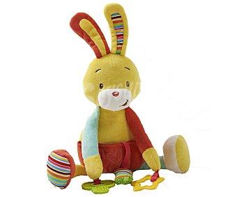 ALCAMPO BABY Peluche actividad, conejo baby