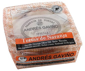 GAVIÑO Tortas de Naranja de Sevilla bolsa 180 g
