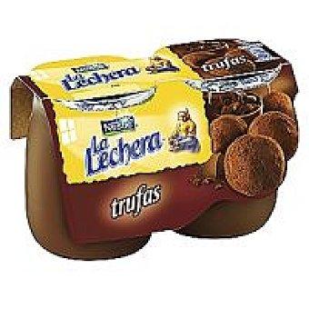 La Lechera Nestlé Postre trufa Pack 2 unidades 135 gr