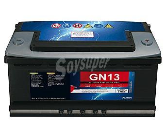 GENIUM Batería de Automóvil de 12v y 92 Ah, Potencia de Arranque: 800 Amperios 1 unidad