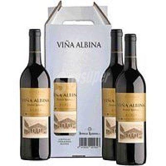 Viña Albina Vino Tinto Reserva Pack 4 x 75 cl