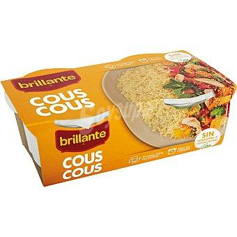 Brillante Cous cous preparado en vasito Pack 2 vasos x 125 g