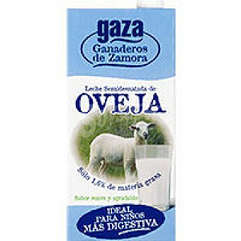 GAZA Leche Semidesnatada de Oveja pack 6x1 litro