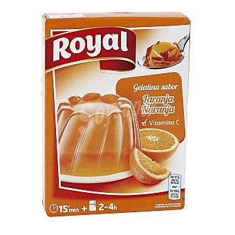 Royal Gelatina de naranja Caja 170 g (10 raciones)