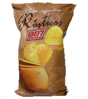 007 Snacks Patatas fritas rústicas 130 g