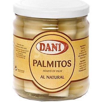 Dani Palmito al natural Frasco 250 g neto escurrido