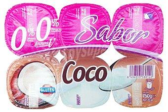 PRODUCTO RECOMENDADO Yogur desnatado coco Pack 6 x 125 g - 750 g