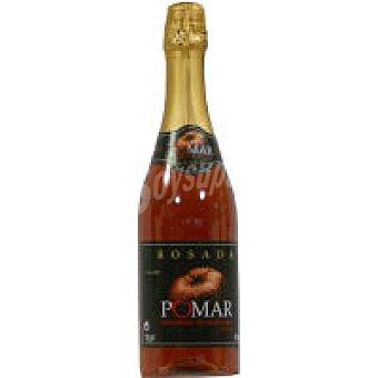 POMAR Sidra Achampanada rosa Botella 75 cl